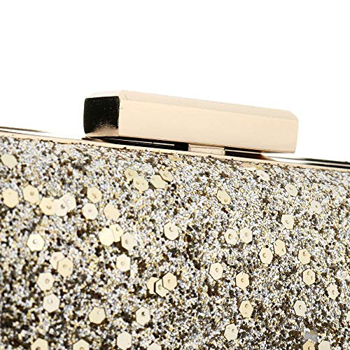 Sabarry pour taille Argent unique Silver Pochette Or femme wHRqTwBz8