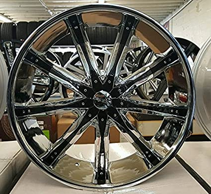 Cheap Rims And Tires Package >> Amazon Com 24 Inch Dcenti Dw29 Wheels Rims Tire Chevy