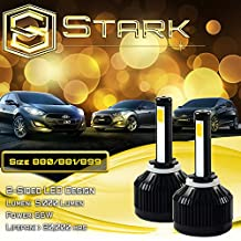 66W All-in-One LED Headlights - Bright Yellow 3000K 3K - Fog Light Bulbs - 7,200 Lm / 880 / 881 / 899 / 893