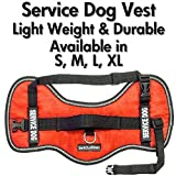 Service Dog Vest Harness - Light Weight But Durable - Available in 4 Sizes - M (24'' - 29'' Girth)