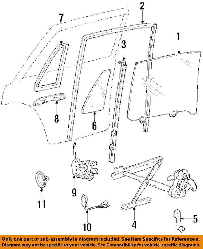 Genuine Honda 76450-SA6-013 Door Lock Assembly