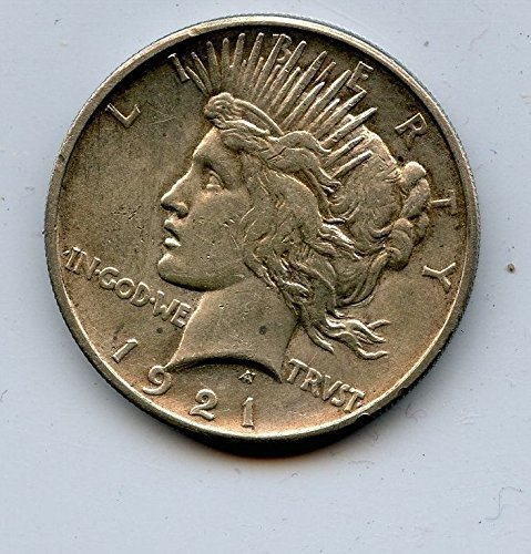 1921 XF/Almost Uncirculated Peace Dollar