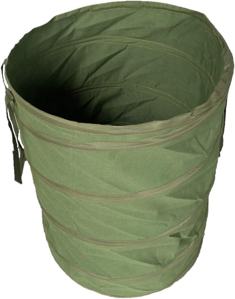 Sacs poubelle de jardin Benz Garden/® Sac /à feuilles durable Sac de jardin en toile extr/êmement robuste Auto-assemblage Sac de jardin pop-up 272 litres Nouveaut/é 2020