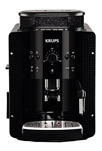 Krups Espresseria EA8108 Automatic Bean to Cup Coffee Machine, Black