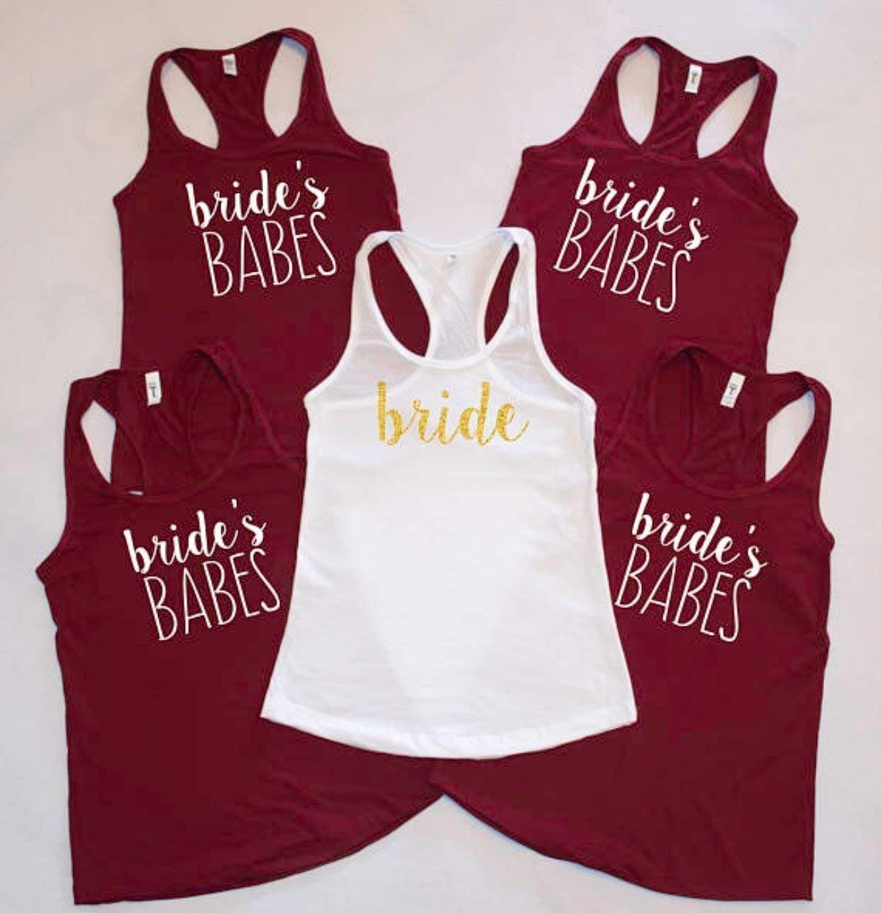 Amazon Brides Babes Bridesmaid Shirts Bachelorette Party