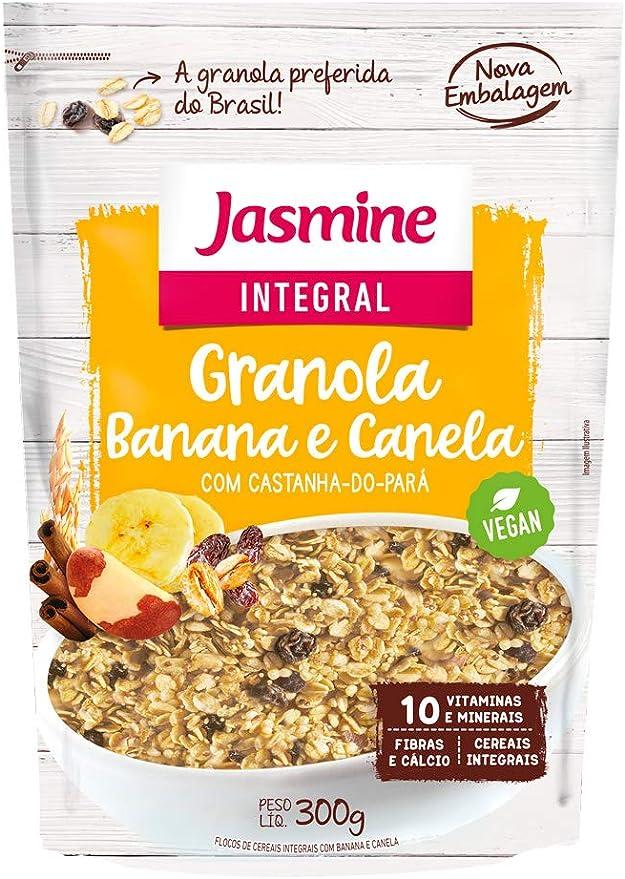 INTEGRAL GRANOLA BANANA & CANELA 300g por Jasmine