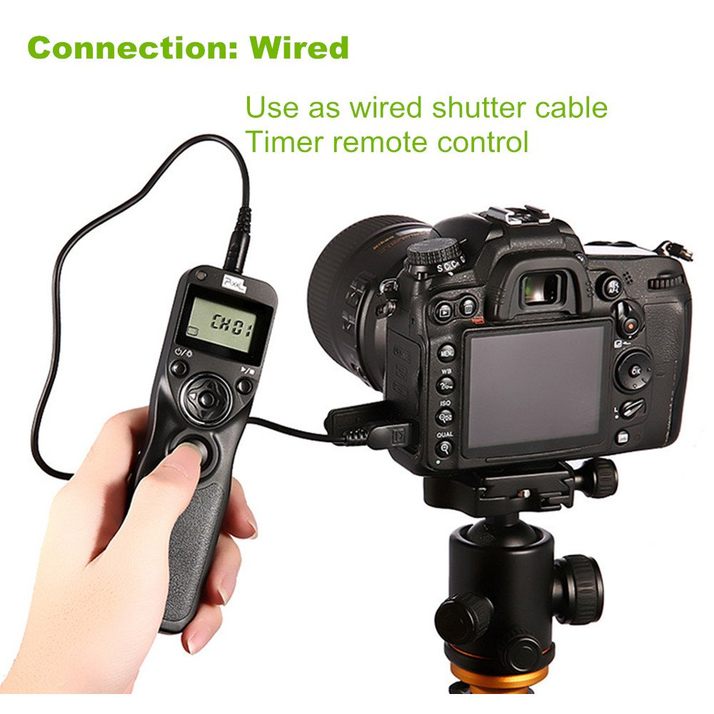 PIXEL TW-283 L1 Wireless Remote Control Wired Shutter Release Cable for Panasonic Cameras by PIXEL (Image #6)