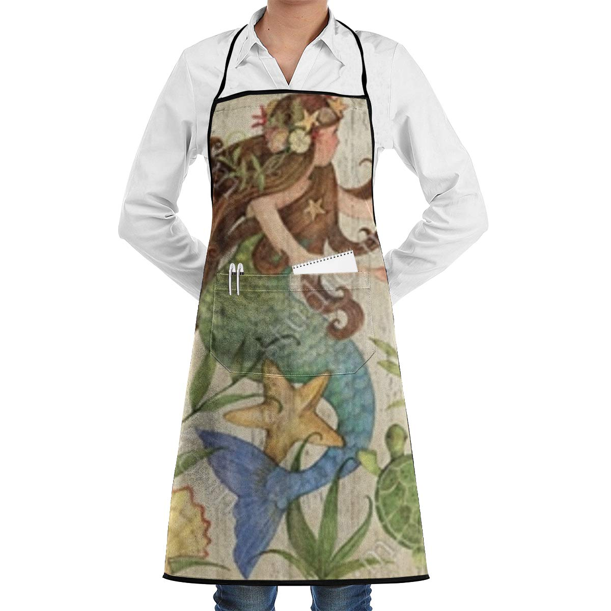 Best Mermaid Aprons For The Kitchen Reviews in 2020 4