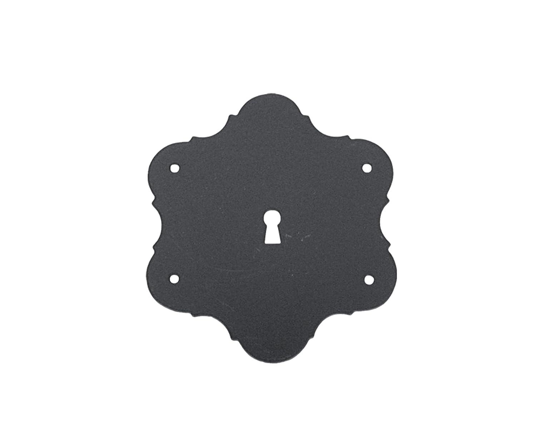 Imex El Zorro 73895 Bocallave (Escudo, para arcó n, 115 x 115 mm) para arcón