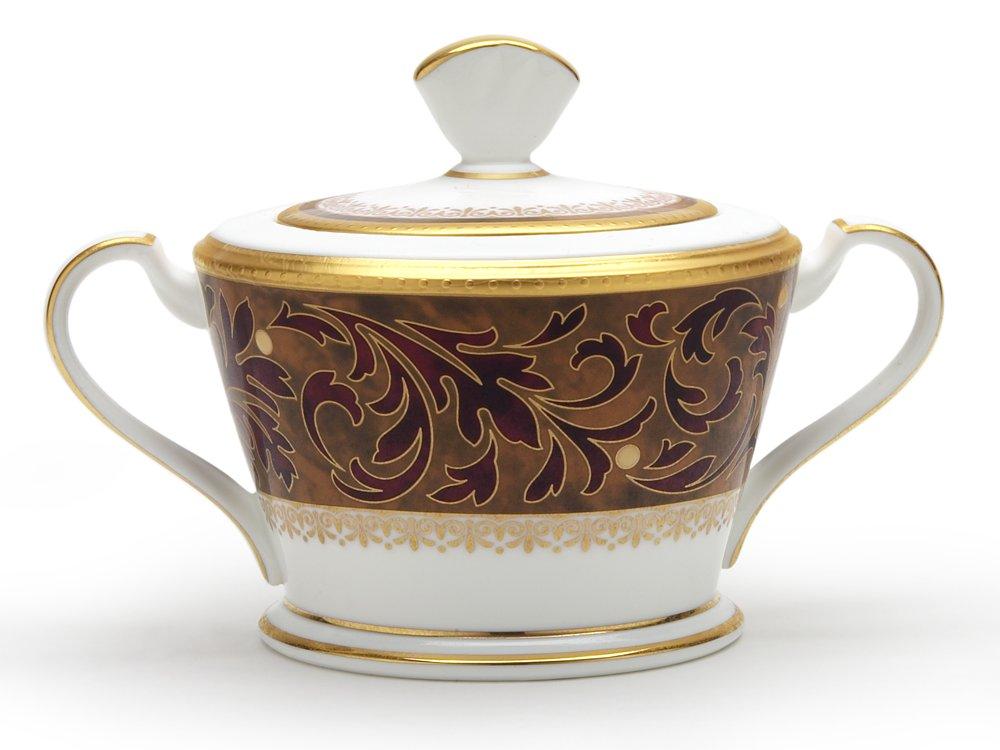 Noritake Xavier Gold Sugar Bowl with Cover 4819-422