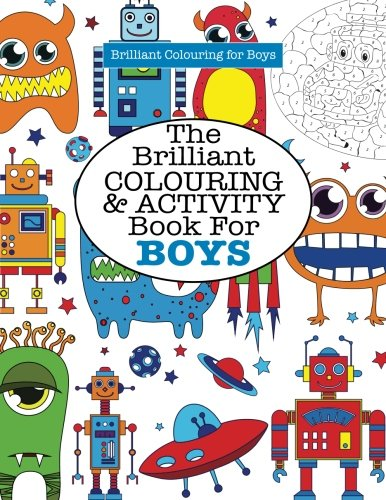 Brilliant Colouring Activity Book BOYS product image
