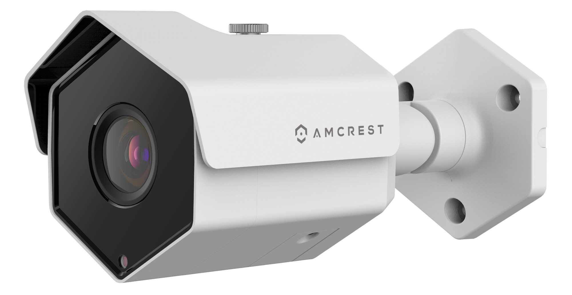 Amcrest ProHD Outdoor 1080P PoE IP Security Bullet Camera - IP67 Weatherproof, 1080P (1920TVL), IP2M-852EW (White)