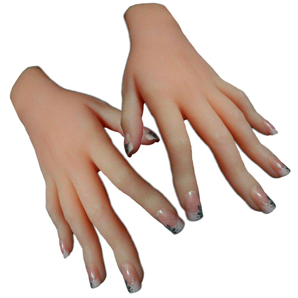 Amazon.com: 1-Pair Silicone hand Female Displays Model Mannequin ...