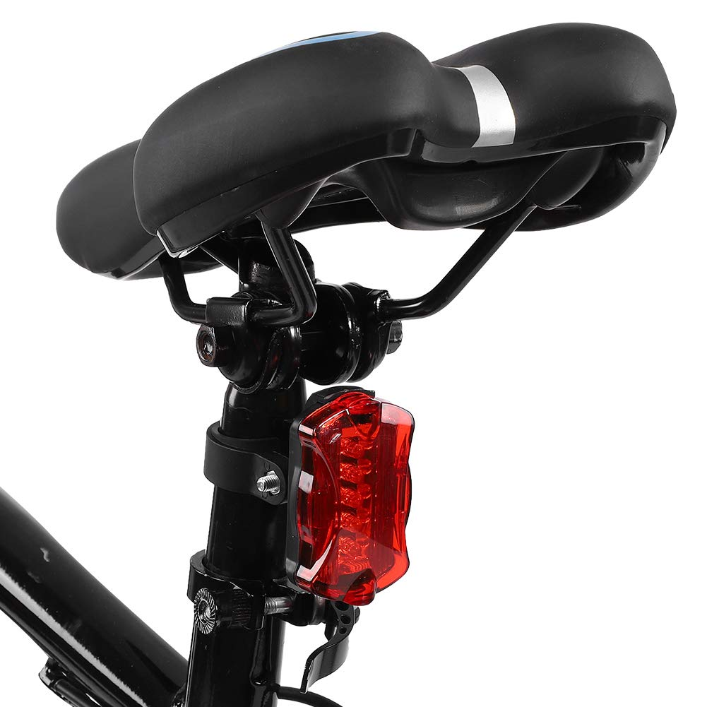 Set di luci per Biciclette Luce Anteriore per Bici ad Alta visibilit/à con tachimetro per Luce Posteriore per Guida Notturna