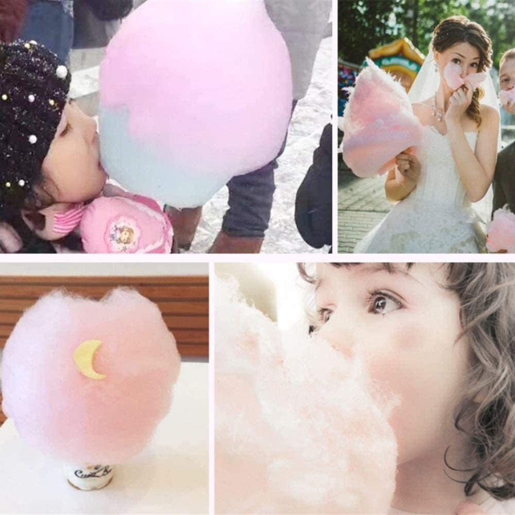 Cotton Candy Maker,Vintage Hard Free Countertop Cotton Candy Easy Clean Candy Maker Kit Sugar Free Electric Countertop Hard Candy Machine for Birthday Parties Family Parties