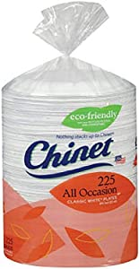 Chinet Paper Plates All Occasion, 1 Pack, White
