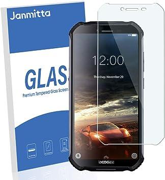 Janmitta [2 Pack] Doogee S40 Protector de Pantalla, 9H Dureza ...