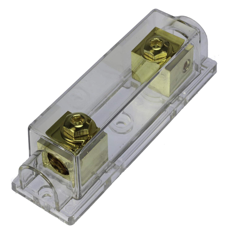 VOODOO Gold ANL Fuseholder Car Audio 2//0 1//0 0 Gauge no terminals Needed