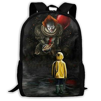 Ding Hao 88 Boys Girls I-Clown-T School Bag Backpack Bookbag College Shoulder Bag for Travel: Toys & Games