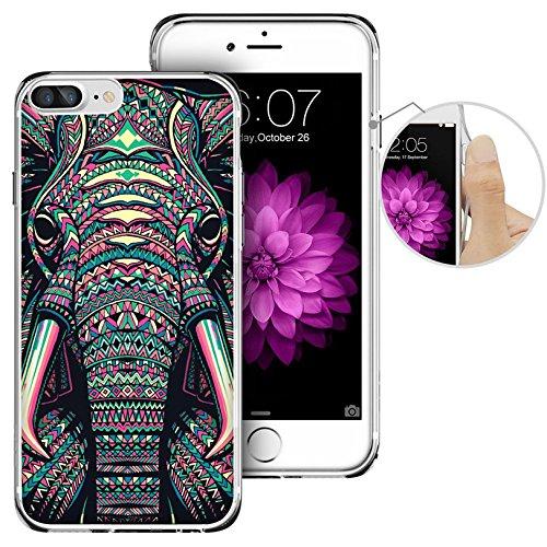 iPhone 7 Plus Case,Apple 7 Plus Case, LAACO Beautiful Clear TPU Case...