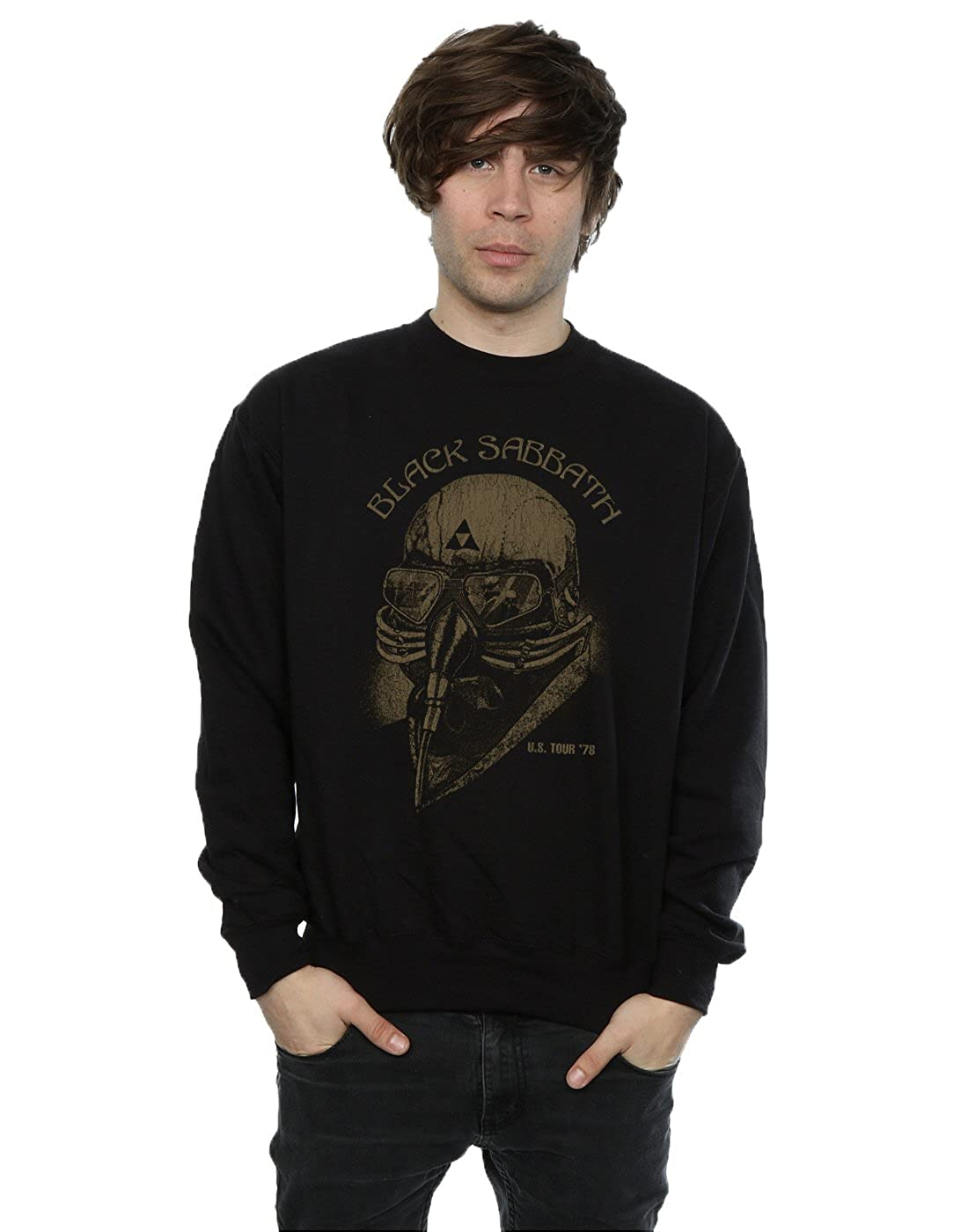 Schwarz Sabbath Herren Tour 78 Sweatshirt