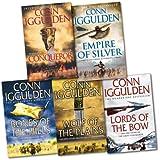 Conn Iggulden Conqueror Series 5 Books Collection Pack Set