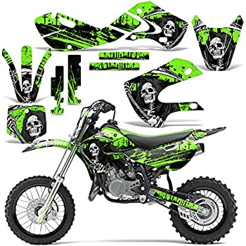 ANALOG Complete Kit Team Racing Graphics kit compatible with Kawasaki All Years KX 65