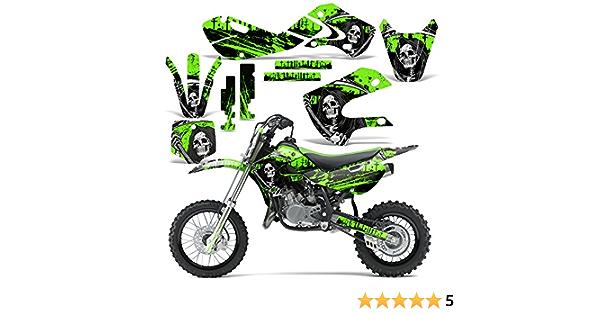 Decalcomanie GRAFICA;BACKGROUND DECALCOMANIA Kit Adesivi Kawasaki KLX110 KLX 110 KX65 KX 65 Suzuki DRZ 110 DRZ110 Pit Dirt Bike