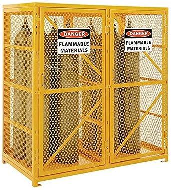 Cylinder Storage Cabinet for Propane & Welding Gas & Compressed ...