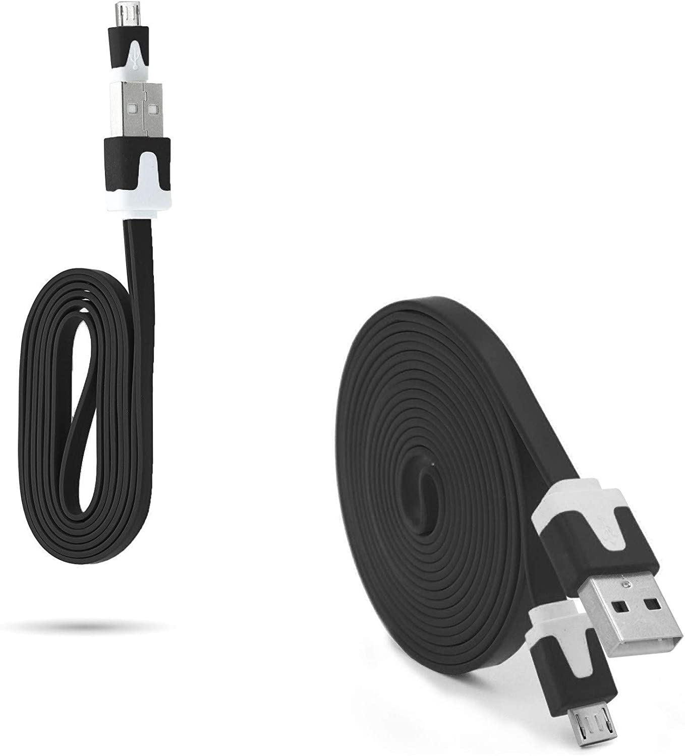 Pack Cargador para ZTE Blade V6 Smartphone Micro USB Cable Noodle ...