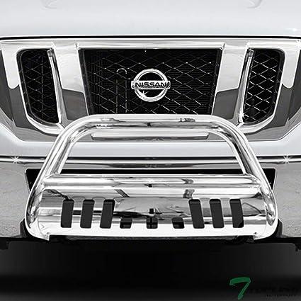 Amazon com: Topline Autopart Stainless Steel Chrome HD Bull Bar