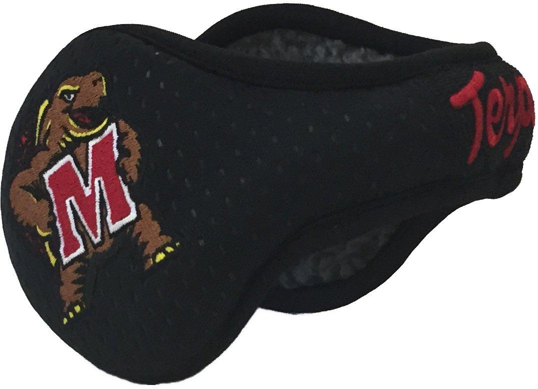 180's Unisex NCAA Maryland Terrapins Terps Behind-The-Head Winter Ear Warmer, Black
