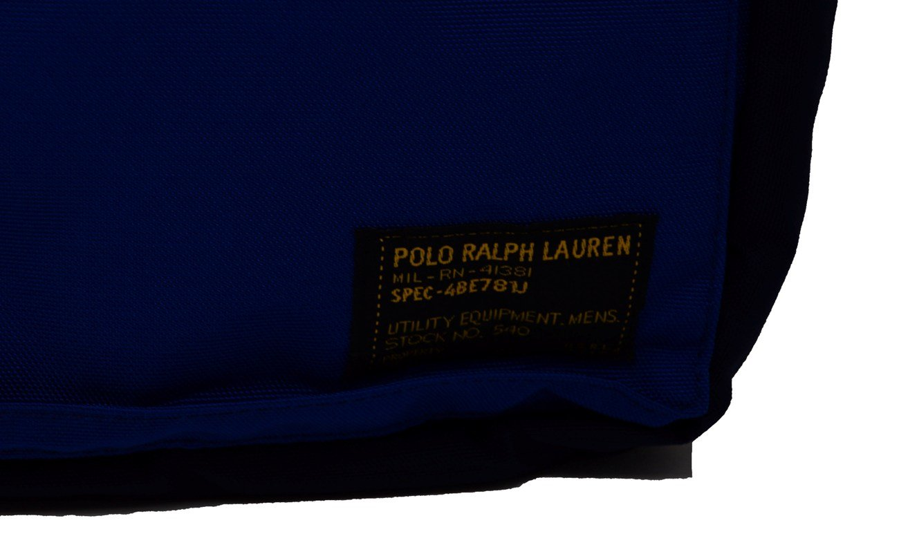 801dc6ee7e Polo Ralph Lauren Mens Military Colorblock Messenger Briefcase Navy O S   Amazon.ca  Office Products