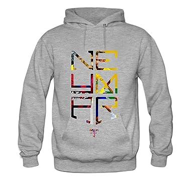 756602fa8 Amazon.com: Neymar JR Logo Soccer Mens hoody Sweatshirt: Clothing