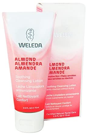 Weleda: Almond Soothing Cleansing Lotion, 2.5 oz