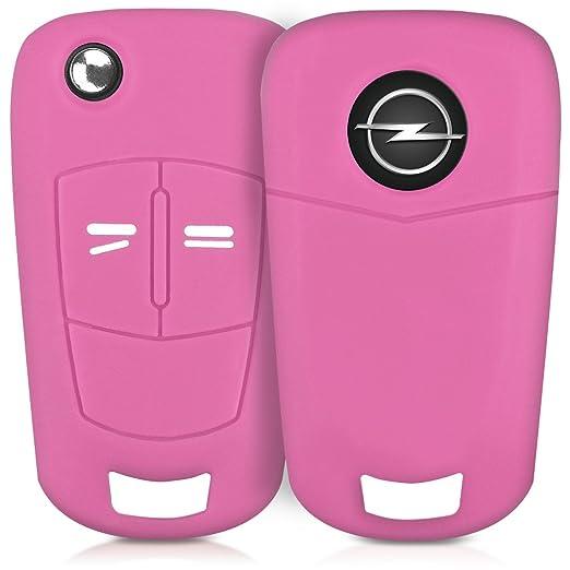 20 opinioni per kwmobile Cover in silicone per chiave pieghevole con 2 tasti Protezione per