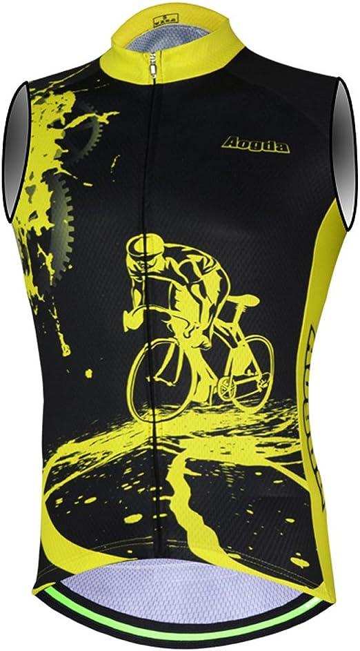 2018 New Sports Men/'s Cycling Jersey White Green Team Bike Jersey Shirt Clothing