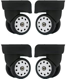 6d304e77dcb9 Amazon.com : 2pcs /set High-grade Black Mute Connected wheels for ...