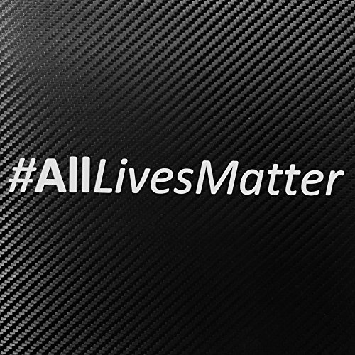 ALL LIVES MATTER Decal Sticker Custom Die-cut Vinyl American USA Merica United States Marines Army Navy Airforce Police