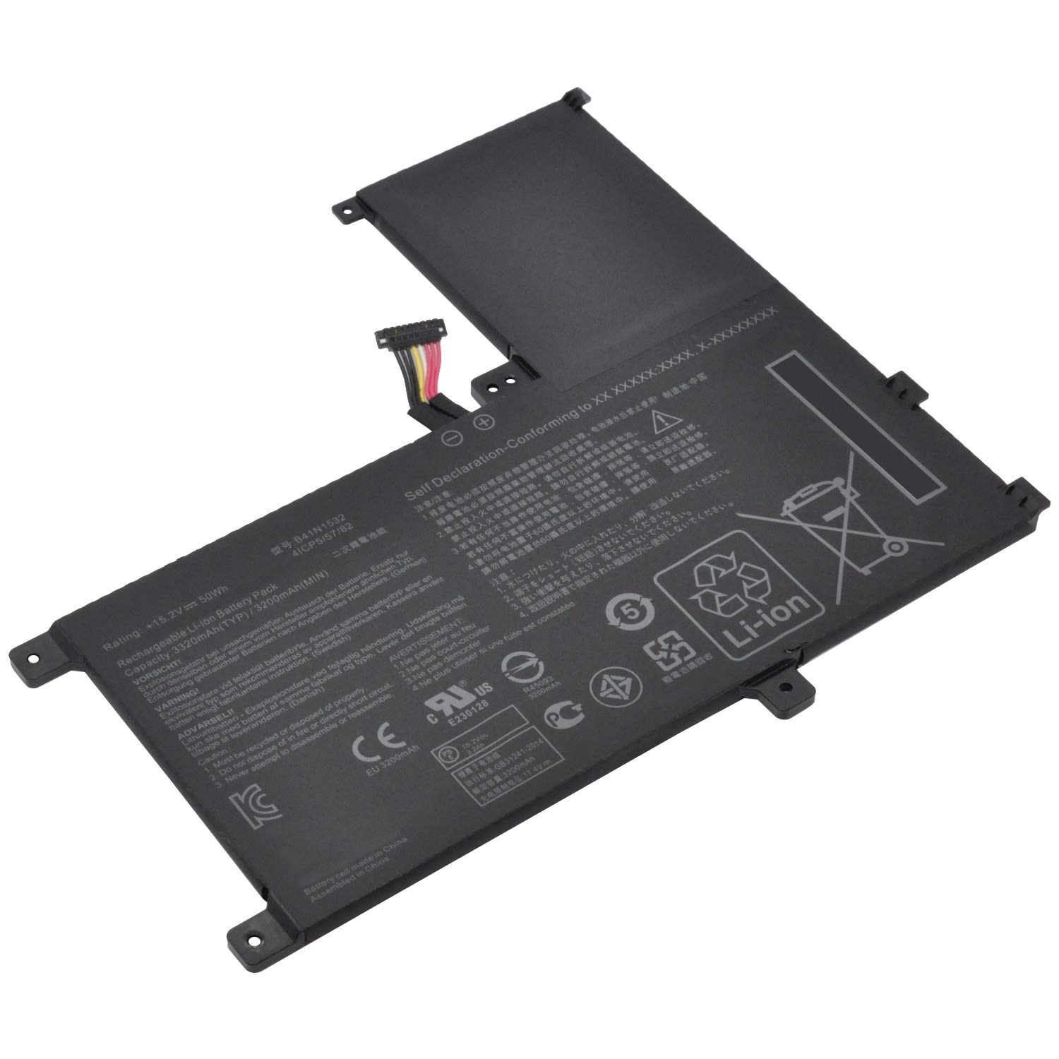 DGTECH New B41N1532 Laptop Battery Compatible with ASUS Q504UA 15.6'' 0B200-02010100 (15.2V 50Wh)