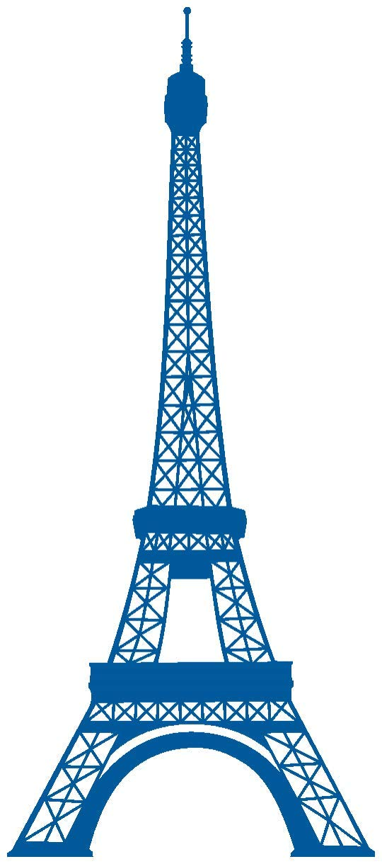 Samunshi® Samunshi® Samunshi® Wandtattoo Eiffelturm Paris Wandaufkleber in 13 Größen und 25 Farben (69x160cm Enzian) B00913GRIG Wandtattoos & Wandbilder fc3366