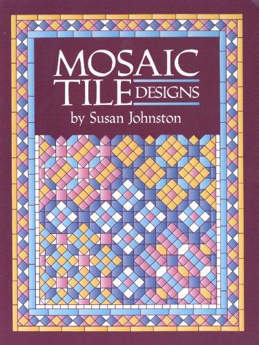Mosaic Tile Designs (Colouring Books)