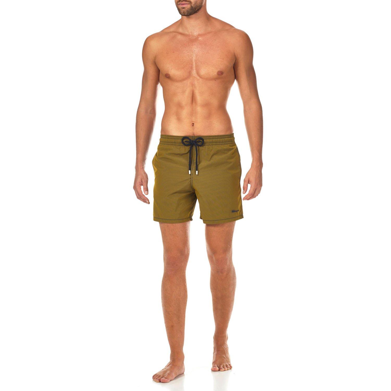 Vilebrequin Micro Rayures Graphic Swim Shorts - Men - Turmeric - L