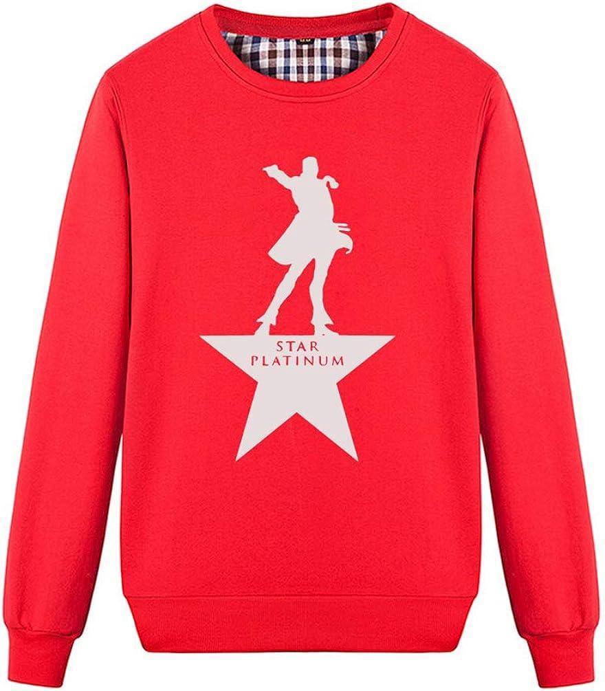 Buffaloo Unisex JoJos Bizarre Adventure Jotaro Funny Graphic Sweatshirts