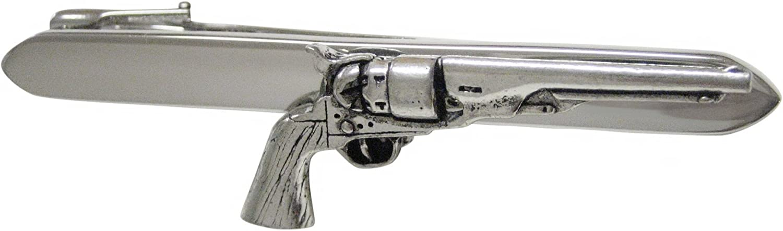 Gold tone Shot Gun Tie Bar Shot Gun Tie Clip Shot Gun Wedding Joke Gift Vintage Gun Tie Bar