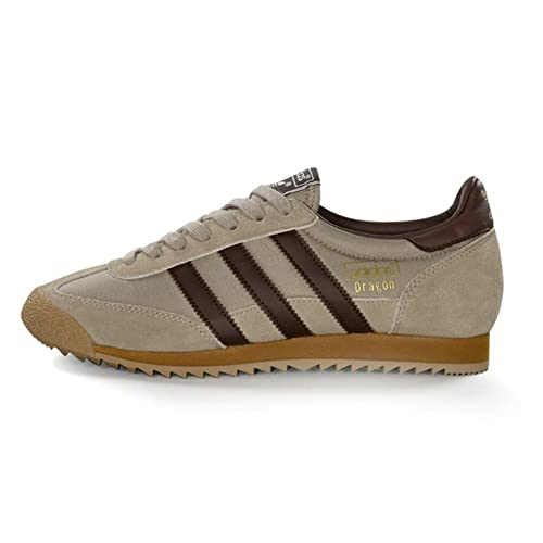 adidas dragon beige