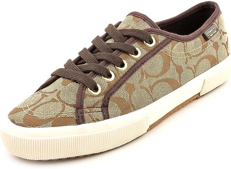 Coach Womens Kalyn Sneaker (Khaki, 9.5