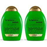 Organix: Tea Tree Mint Hydrating Shampoo + Conditioner, 13 oz Combo Pack by OGX