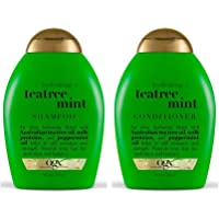 OGX Tea Tree Mint Hydrating Shampoo, 384ml Plus Conditioner, 384ml