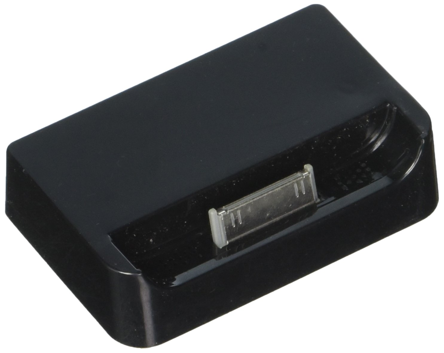 80%OFF Generic Desktop Charger for iPhone 4 - Retail Packaging - Black